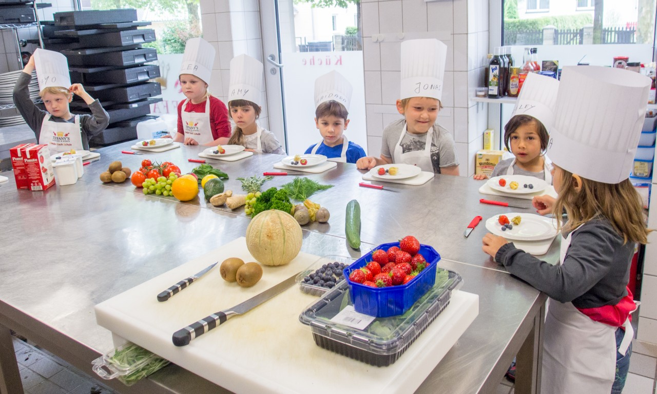Tiffany's Catering Kinderkochschule